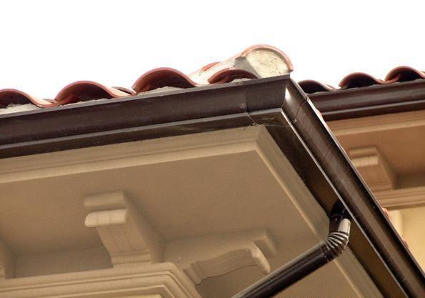 江苏扬州仪征铝合金成品天沟安全可靠