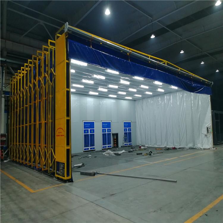 福建省光氧催化廢氣處理設備安裝現場