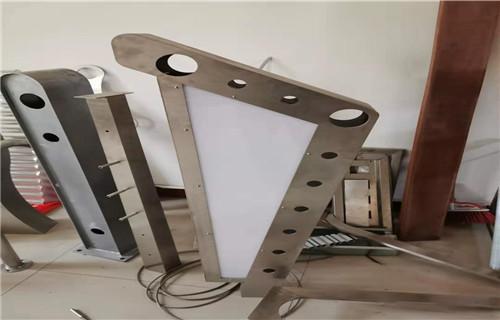盤錦不銹鋼燈光護欄定制