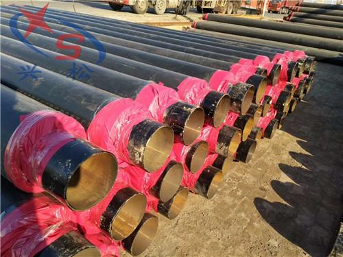 鄂州钢套钢预制保温弯管固定节技术