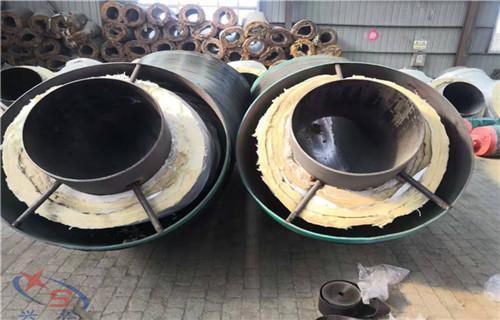牡丹江钢套钢直埋保温管达到企业预期