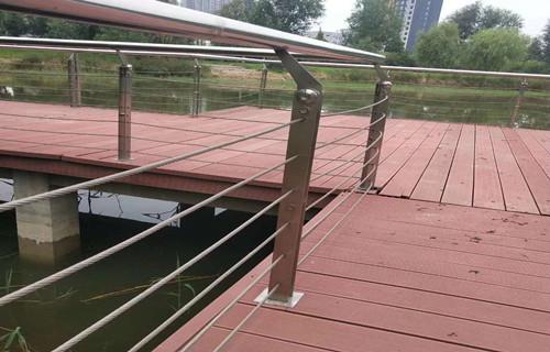 海西景觀金屬欄桿堅固耐用