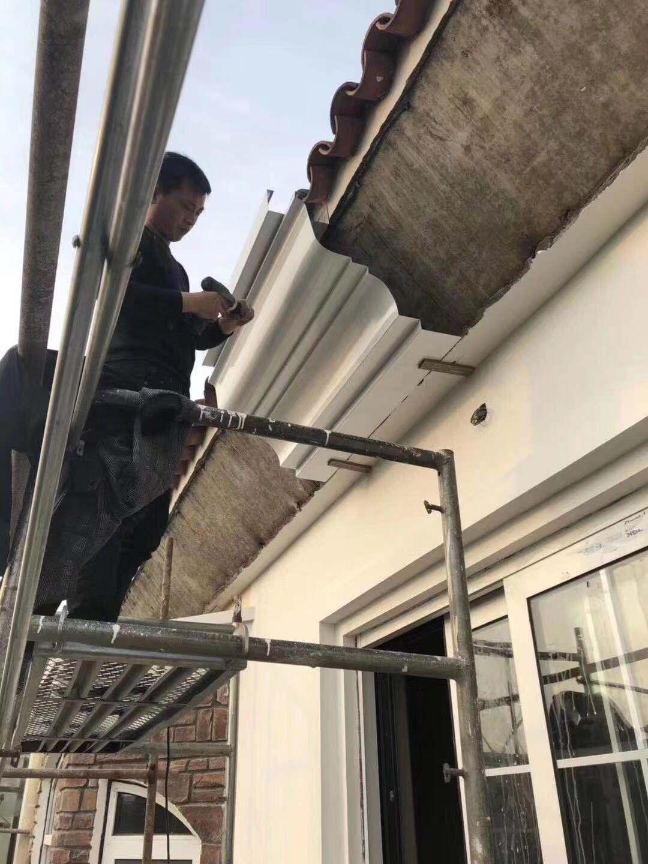 臨泉縣彩鋁成品雨水槽廠家規格