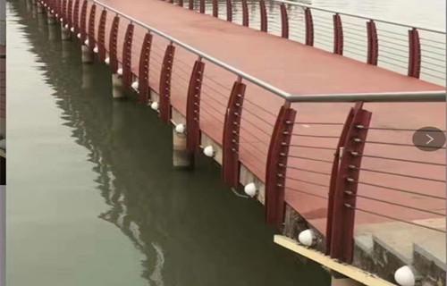 鹽城橋梁欄桿安裝現場