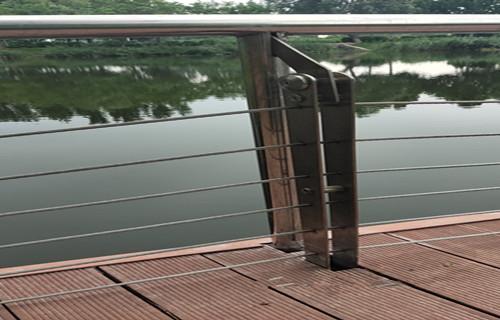 茂名201鋼絲繩欄桿價格低