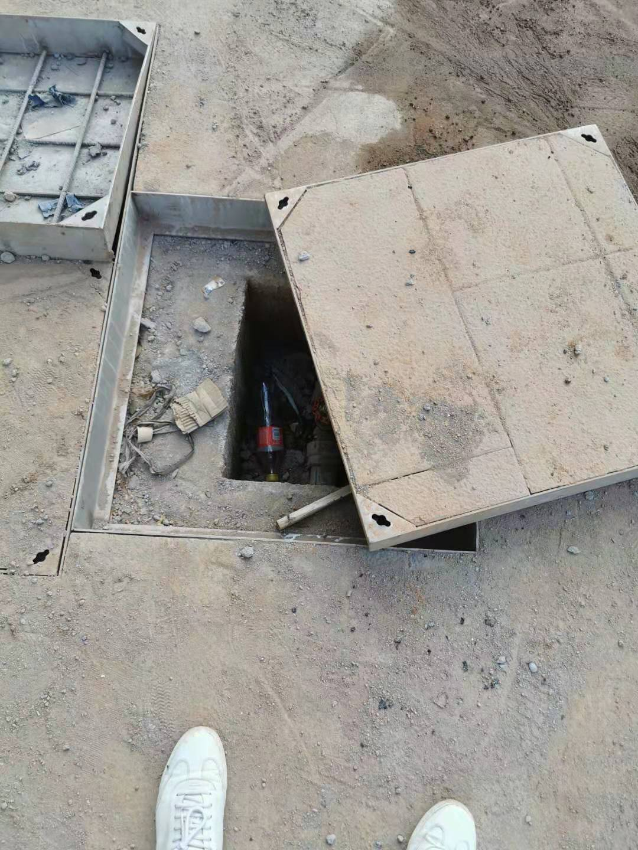 不銹鋼隱形井蓋-天津市政電力井蓋