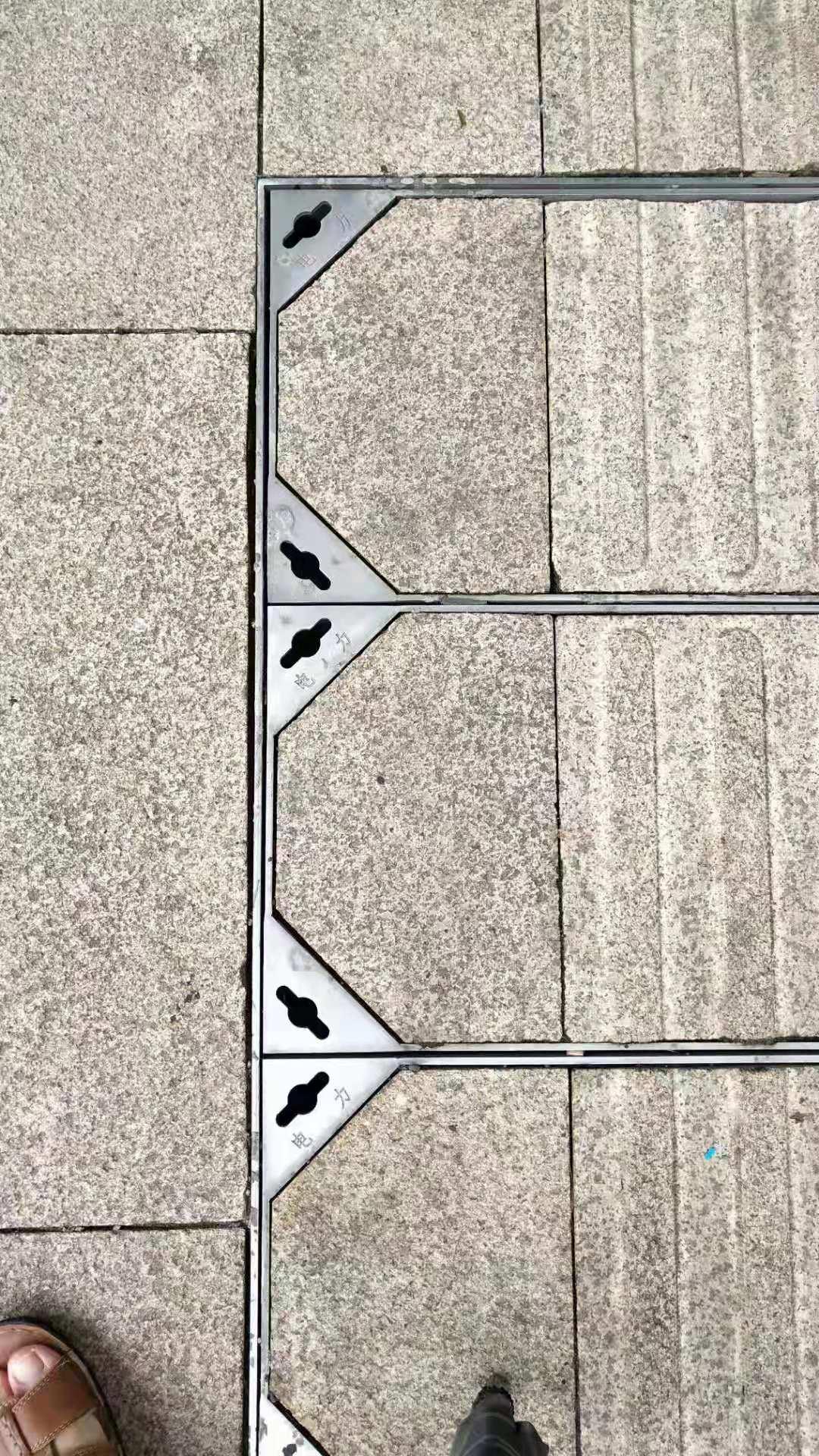 不銹鋼井蓋-靖江市政電力井蓋
