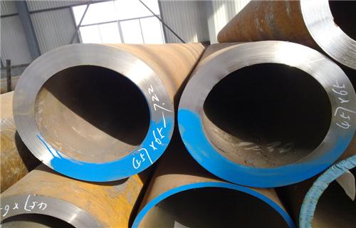 阳江合金钢76*12热轧无缝钢管生产厂家数控切割