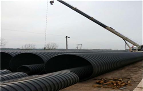 海东钢带增强螺旋波纹管供应