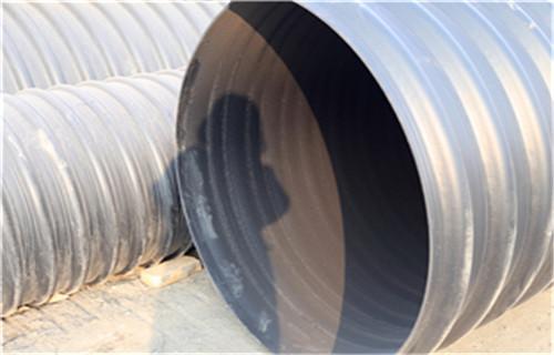 银川钢带增强螺旋波纹管最低价