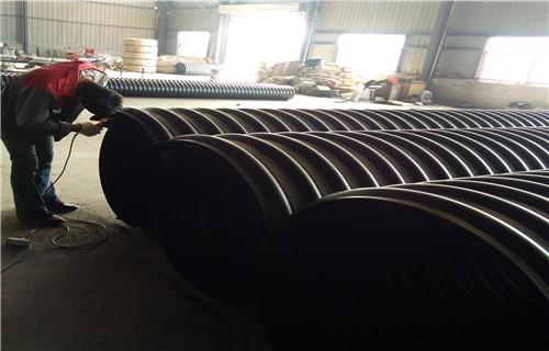 青海HDPE钢带增强管现货供应