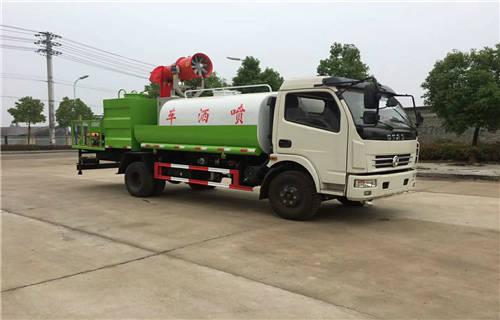 肇庆10吨园林洒水车视频