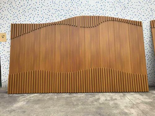 泰山地铁站通道吊顶装饰铝方通批发厂家