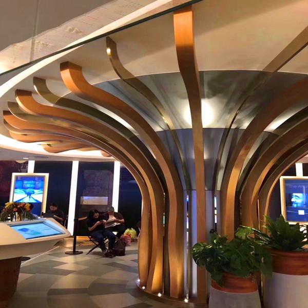 宁阳地铁站通道吊顶装饰铝方通多少钱