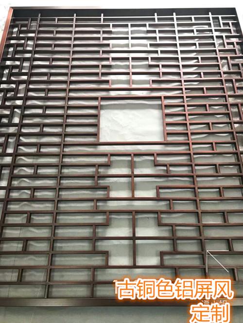 海北美丽乡村文化长廊仿古铝挂落生产厂家