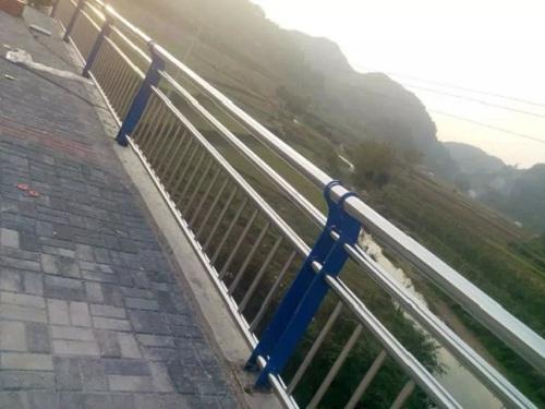 三门峡不锈钢桥梁栏杆来图定做