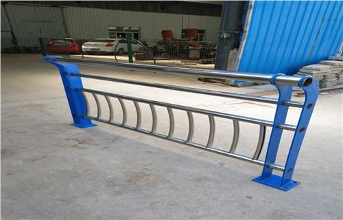 平凉厂家图纸标准生产复合管景观防撞护栏/栏杆