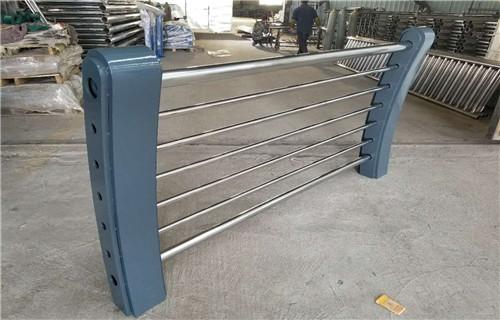 泉州厂家图纸标准生产复合管道路防撞护栏/栏杆