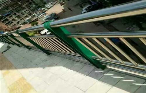合肥厂家图纸标准生产复合管桥梁防撞护栏/栏杆