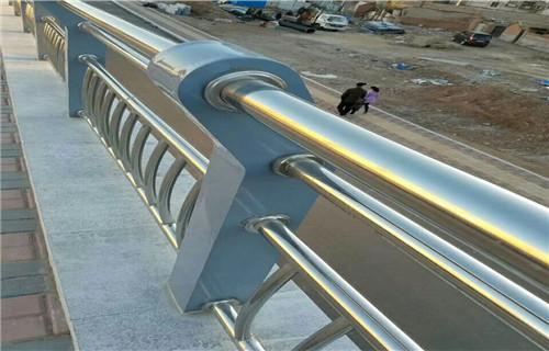 徐州厂家图纸标准生产复合管景观防撞护栏/栏杆