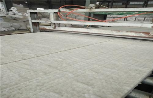 宁夏外墙用隔音防火板硅酸铝纤维毯