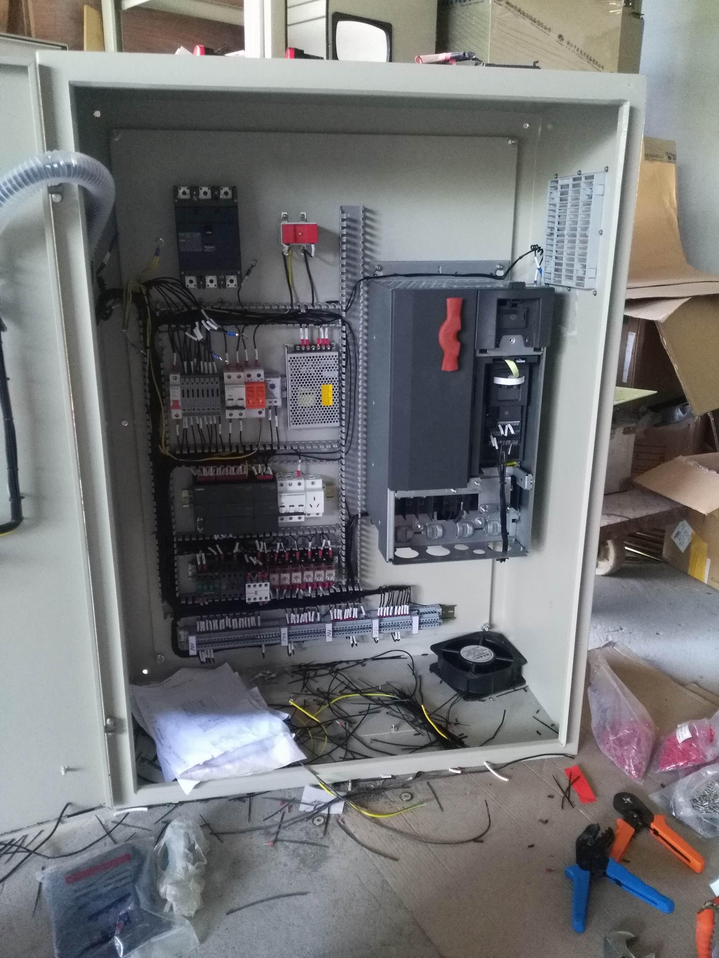 霸州PLC闸门电控箱