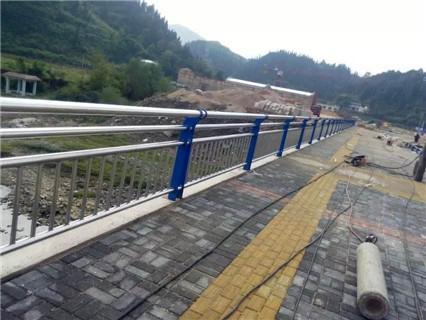 延安不锈钢复合管道路景观护栏生产销售基地
