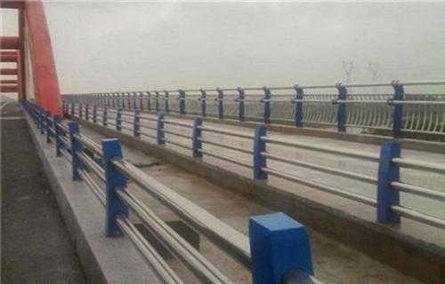淮北碳素钢防撞桥梁护栏市场价