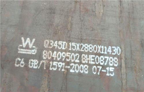 福建Q345C钢板价格