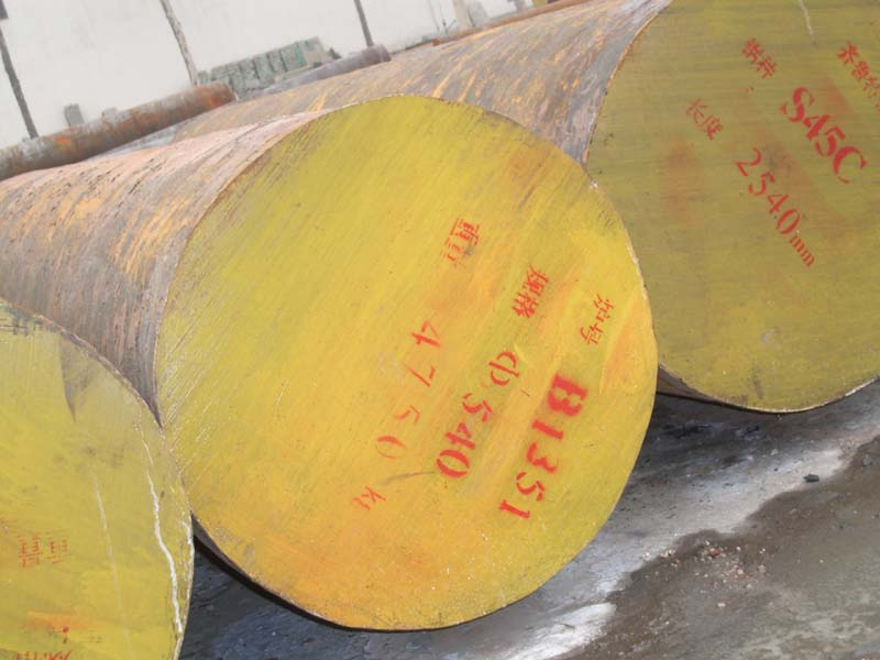 海东圆钢切割加工/42Crmo圆钢现货切割