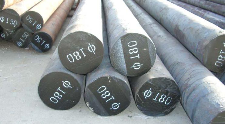银川圆钢切割加工/42Crmo圆钢现货切割