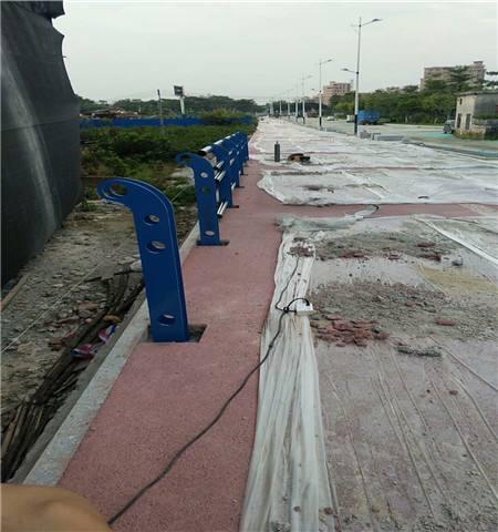 阳泉栏杆厂生产各种不锈钢桥梁护栏   厂家发货