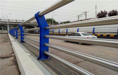 黃南鋼板防腐立柱噴塑橋梁護欄