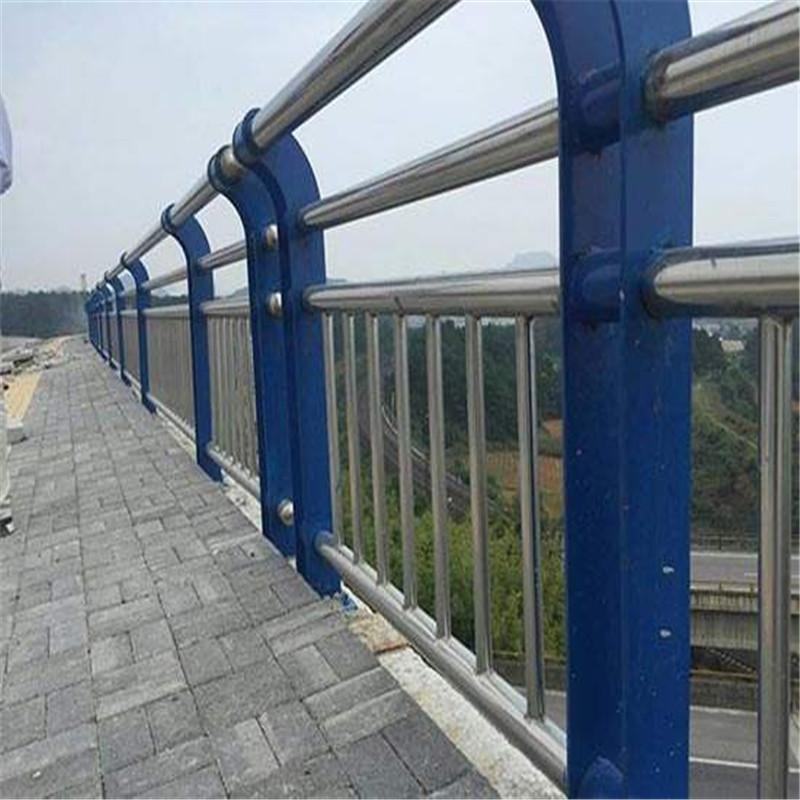 甘肃省张掖不锈钢桥梁复合管栏杆销售处