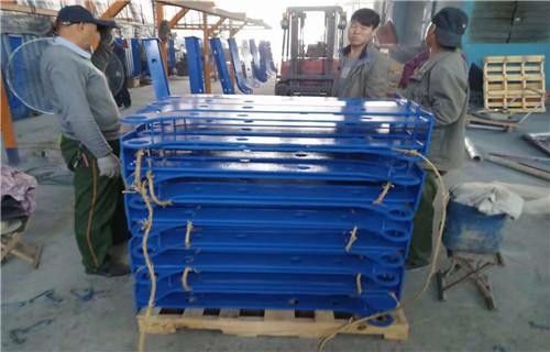 深圳城市道路护栏生产车间