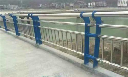 荆门不锈钢复合管桥梁防撞栏杆专业设计生产