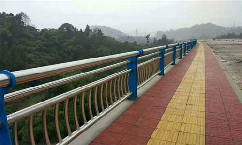 黄南不锈钢复合管桥梁防撞栏杆加工厂