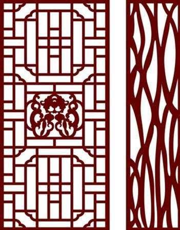 玉林铝窗花加工铝窗花厂家直销现代设计仿木纹冰裂纹铝窗花厂家