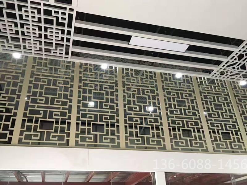 防城港铝合金窗花广州铝窗花厂中式仿古铝花格异型花铝窗花厂家