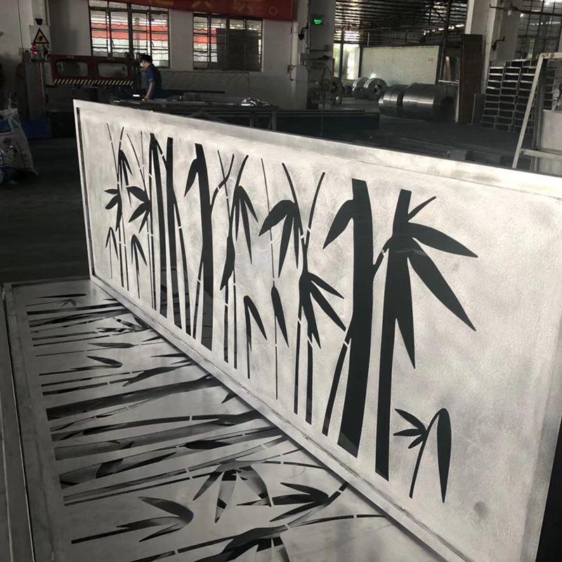 荆州门面铝单板造型氟碳招牌镂空金属铝板