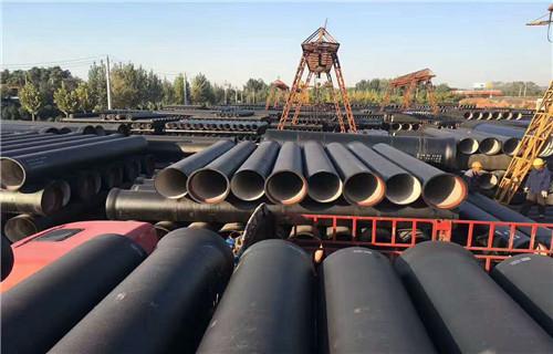 宁波T型接口球墨铸铁管 铸铁污水处理管道