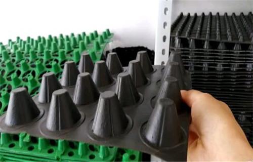 海西長期購買塑料排水板車庫頂板虹吸排水收集系統