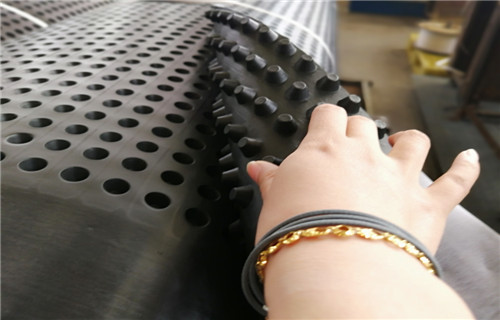 克拉瑪依現金現結ped08高分子防護排水異形片高抗壓塑料排水板廠家