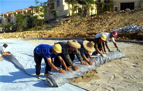 人工湖gcl防水毯 膨潤土防水毯供應商黃平