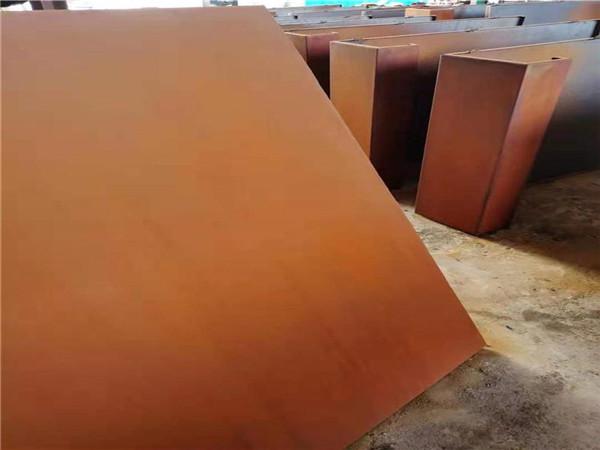 南昌-考登鋼板、耐候板銹蝕價格