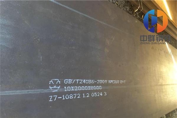 山南耐磨鋼板nm400現在鋼板價格
