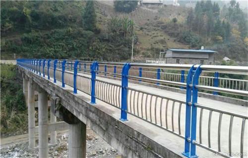 河道不锈钢护栏厂家银川图纸订做