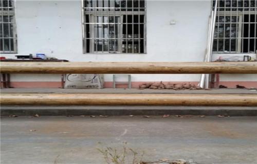 伊犁钢背木护栏图纸计算