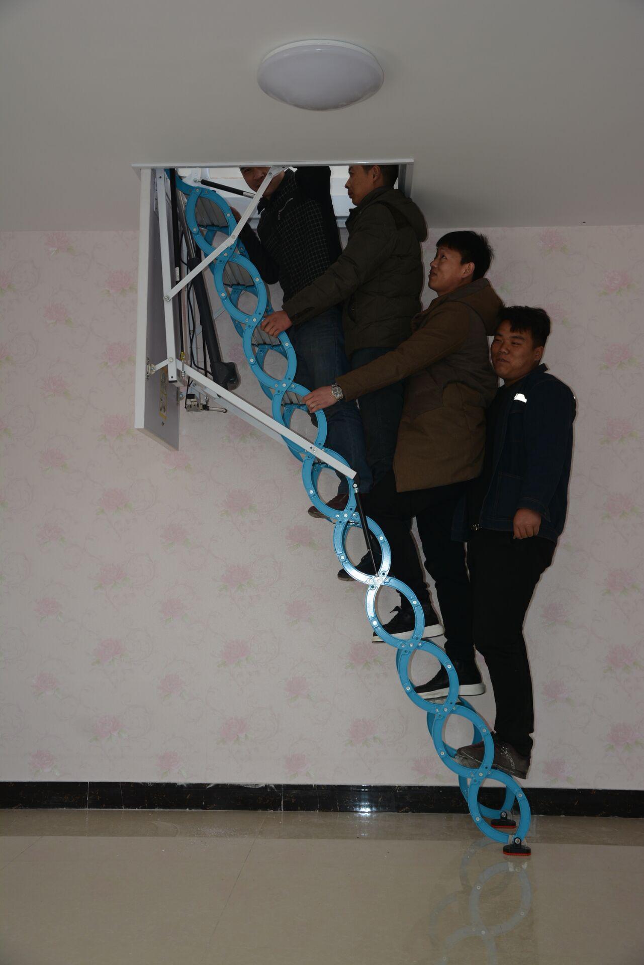 酒泉閣樓樓梯折疊樓梯伸縮樓梯哪家好