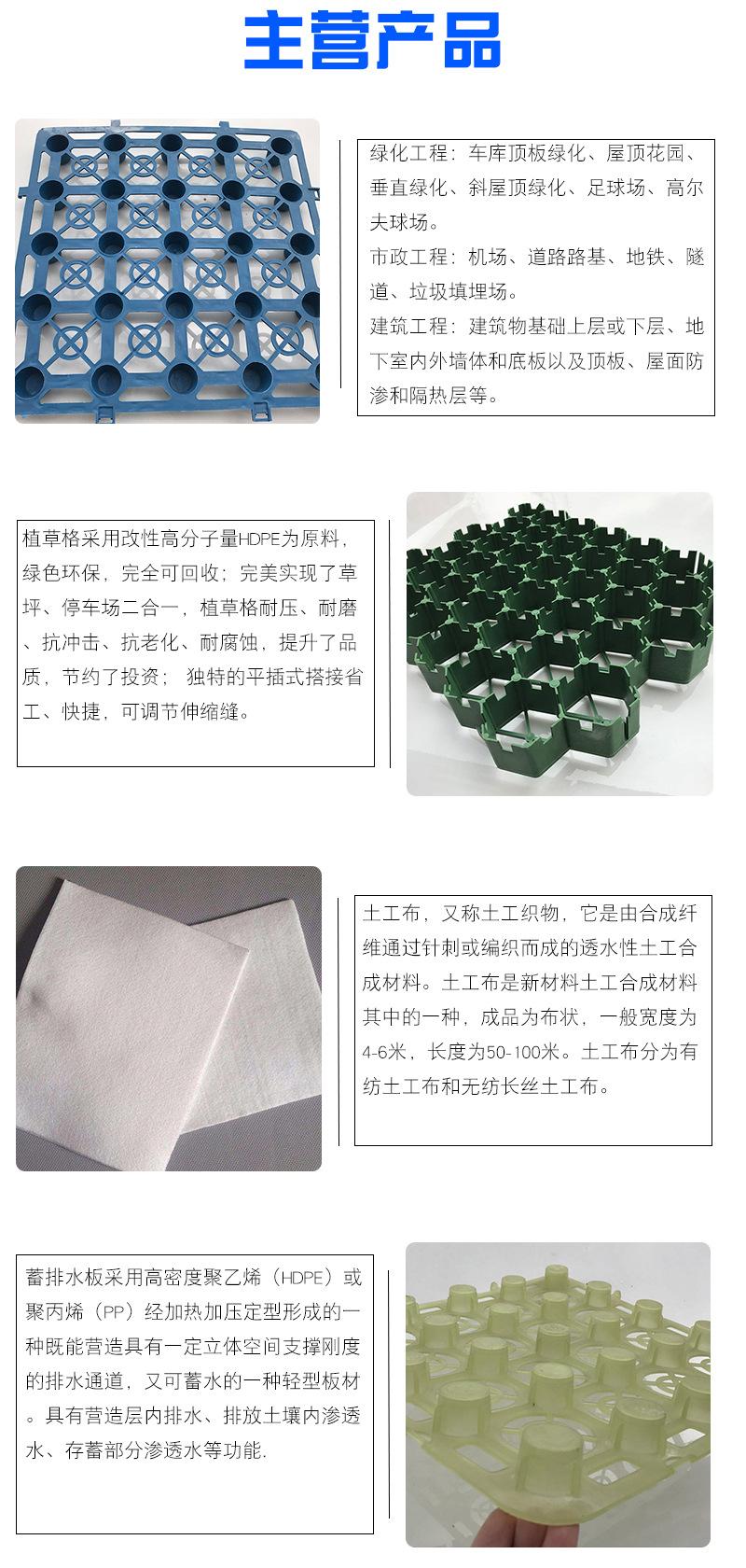 北京排水板廠家電話+安徽省六安市